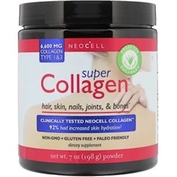 Neocell, Super Collagen, коллаген типа 1 и 3, 6000 мг, 198 г