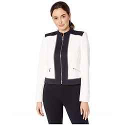 Tommy Hilfiger, Color Block Zip Front Jacket