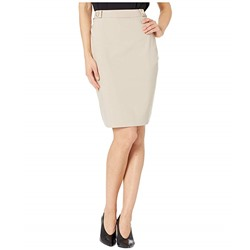 Tommy Hilfiger, Side Tab Straight Skirt