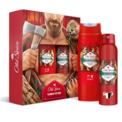 OLD SPICE  №669 Набор   Bearglove  Гель душ 250 мл + Спрей 150 мл