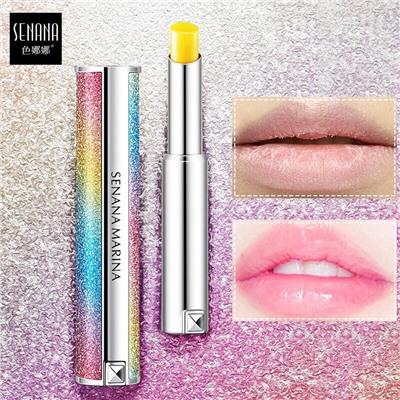 Увлажняющий защитный бальзам для губ с легким оттенком SENANA Starry Sky Discoloration Lip Balm купить, отзывы, фото, доставка - Совместные покупки в