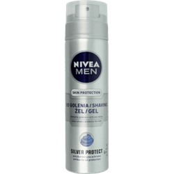 NIVEA MEN Silver Protect гель для бритья 200 мл
