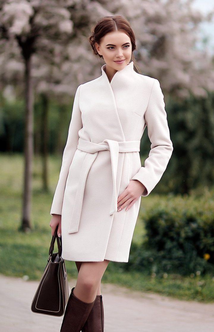 Красивое необычное женское пальто фото этом