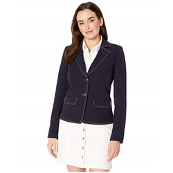 Tommy Hilfiger, Picstitched Two-Button Jacket