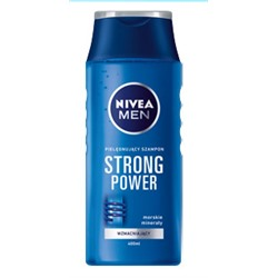 BD Szampon do włosów NIVEA MEN, 400 ml strong power