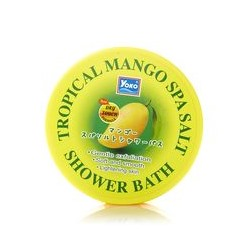 Солевой спа-скраб для тела Tropical Mango от Yoko 240 гр / Yoko Tropical Mango Spa Salt Shower Bath 240 g