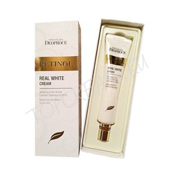 ДП PREMIUM Крем с ретинолом для век и носогубных складок PREMIUM DEOPROCE RETINOL REAL WHITE CREAM 40ml 40мл