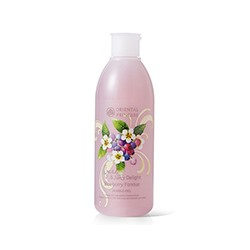 "Гель для душа ""Черничное фондю"" от Oriental Princess 250 мл / Oriental Princess Fresh & Juicy Delight Blueberry Fondue Bubble Gel 250 ml"
