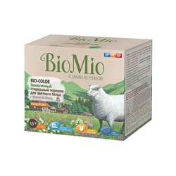 Средство BioMio Bio-Color для цветного белья, 1,5 кг.