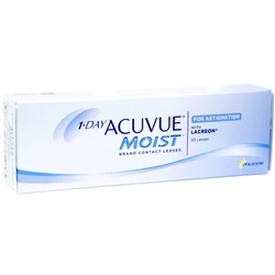 1-Day Acuvue Moist for Astigmatism, 30 pk